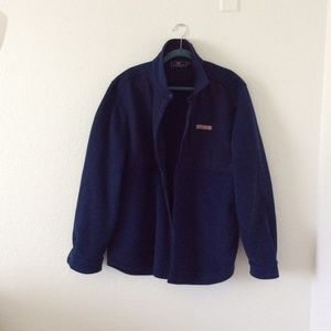 Full Snap Button Closure Shep Shirt Jacket
